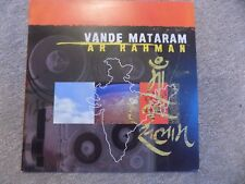 "A.R. Rahman – Vande Mataram 12"" Promo Record Single Rare Bhangra Ambient"