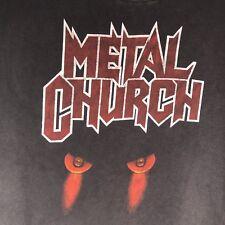 Metal Church 1986 North American Tour Concert Tour XL T Shirt Original Authentic