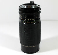 Vintage Sigma High Speed Zoom 80mm to 200mm Multi Coated for Konica