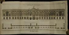 Diderot -  Dictionnaire raisonne des sciences / viele Kupfer – Architecture 1780