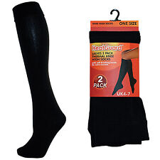 Heatguard Ladies Knee High Socks - Black
