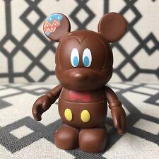 "Disney Vinylmation 3"" - HOLIDAY SERIES 2 CHOCOLATE BUNNY RABBIT Loose Authentic"