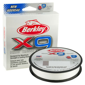 Berkley X9 Crystal 300m Braid Fishing Line