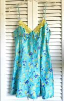 Victoria Secret Turquoise Baby Doll Short Nightgown Size S