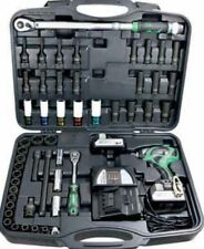 Hitachi WR 18DBDL Car Set Cordless Screwdriver 18V 3AH incl. Accessories