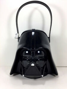 Starwars DARTH VADER Christmas Candy GIFT BASKET Toy Figure Storage Bin Bucket