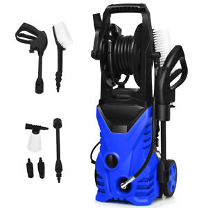 Electric Pressure Washer 2030PSI 140 Bar Water High Power Jet Wash Patio Car
