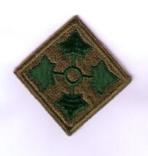 WWII - 4th INFANTRY DIVISION (Original patch)