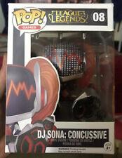 Funko Pop League of Legends Figure DJ Sona Concussive #08 Damaged Figure