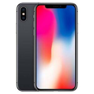 Apple iPhone X - 256GB - Space Gray (Verizon) A1865 (CDMA + GSM) Fair Condition