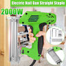 2000W Electric Staple Gun framing Straight Nail Heavy Duty Woodworking Stapler