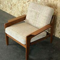 60er 70er Jahre Teak Easy Chair Sessel Arne Wahl Iversen Komfort Danish Denmark
