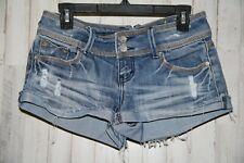 Almost Famous Ladies size 7 Stretch Denim Shorts (4306