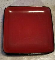 """Home RED SOLSTICE SQUARE 10 1/2"""" Dinner Plates Set(s) of 2"""