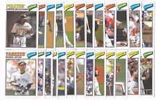 2012 Topps Archives Cloth Stickers - Complete Set - 25 Cards
