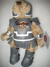 ATHENS,Hard Rock,Teddy Bear,Spartan Greek HARD TO FIND,New with Tag