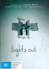 LIGHTS OUT DVD, NEW & SEALED, REGION 4. FREE POST
