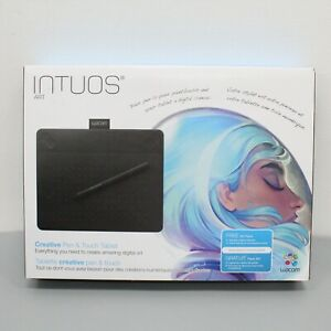 Wacom Black Small Intuos Art Pen and Touch Tablet CTH490AK