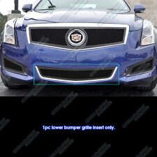 Fits 2013-2014 Cadillac ATS Stainless Black Lower Bumper Mesh Grille