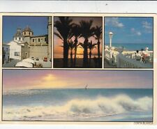 Costa Blanca Multiview Spain Postcard 1991 used VGC