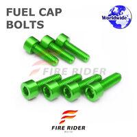 FRW Green Fuel Cap Bolts Set For Kawasaki Ninja 300R 13-16 13 14 15 16