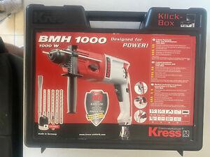 Kress Bohrmaschine BMH 1000 power brandneu