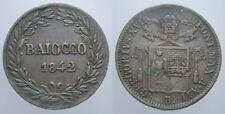 BAIOCCO 1842 BOLOGNA GREGORIO XVI STATO PONTIFICIO