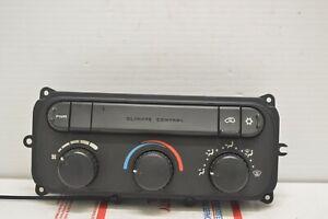 2001 2007 Dodge Caravan Climate Control Unit Heater Ac Temperature Hvac CD31#007