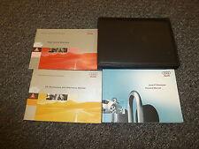 2004 Audi TT Roadster Owner's Owners User Manual Book Set Quattro 1.8L 3.2L