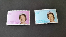NORFOLK ISLAND 1980 SG 252-253 80TH BIRTHDAY OF THE QUEEN MOTHER MNH