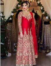 INDIAN DESIGNER LEHENGA WEDDING PARTY WEAR ETHNIC PAKISTANI BRIDAL LEHENGA CHOLI