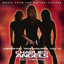 CHARLIE'S ANGELS ~ Full Throttle ~ Movie Soundtrack ~ CD BRAND NEW AND SEALED