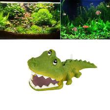 Crocodile Air Bubble Bubbling Stone Oxygen Pump Fish Tank Aquarium Ornaments