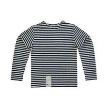 Camisetas de niño de 2 a 16 años manga larga color principal azul 100% algodón