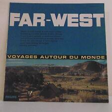 """33 tours FAR-WEST Disque Vinyle LP 12"""" VOYAGES AUTOUR DU MONDE - PHILIPS 8667"""