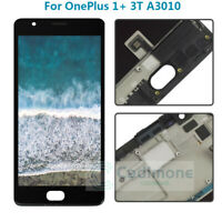 OEM For Oneplus 3T A3010 LCD Display Touch Screen Digitizer Assembly  Frame M6Y