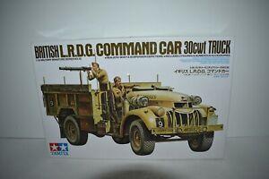 Tamiya British LRDG Command Car 30cwt Truck Model Kit 1:35 Scale Sealed