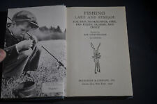 1946 *FIRST* Fishing Lake and Stream by Roy Schrenkeisen