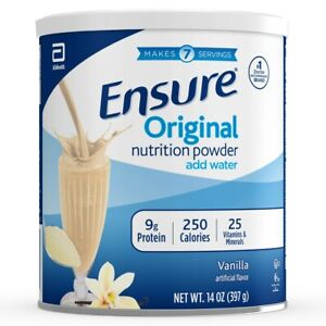 Ensure Original Nutrition Powder with 9 grams of protein, 14Oz Free Shipping