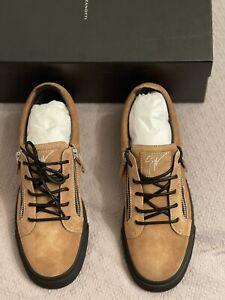 giuseppe zanotti men's sneakers new