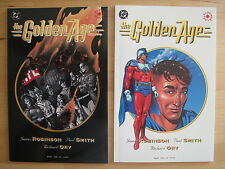 The GOLDEN AGE # 1 & 2 (2 issues) both NM, DC, 1993-1994