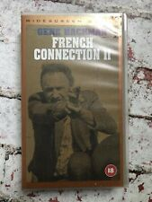 The French Connection 2 Widescreen UK VHS Video Gene Hackman