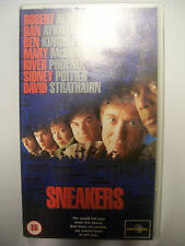 SNEAKERS [1992] VHS – Robert Redford, Dan Ackroyd, Ben Kingsley, Sidney Poitier