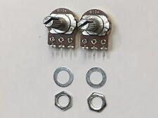 B100k 100k Ohm Linear Taper Rotary Potentiometer 2 Pcs