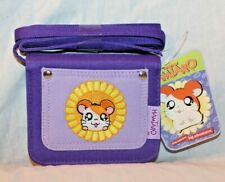 """New With Tags Hamtaro Large Wallet 4"""" X 5"""" Purple Kids Wallet"""