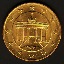 Germany 2002-J - 10 euro cent (2)