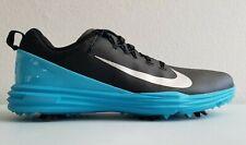 Nike Lunar Command 2 Mens Golf Shoes Black-Blue Nike 849968 004 Sz 11.5 New