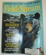 Field & Stream Magazine Black Bears And Deer August 1967 012915R