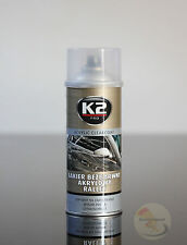 K2 PRO Rally Fast Dry High Gloss CLEAR TOP COAT ACRYLIC Car Lacquer Spray Metal