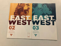 East of West #2 and #3 -New TV Show- Comic Book Lot -CHECK MY OTHER AUCTIONS